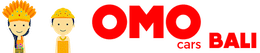 Sewa Mobil Rental di Bali OMOcars Logo